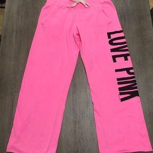 "Brand New Victoria Secret's ""pink"" sweatpants"